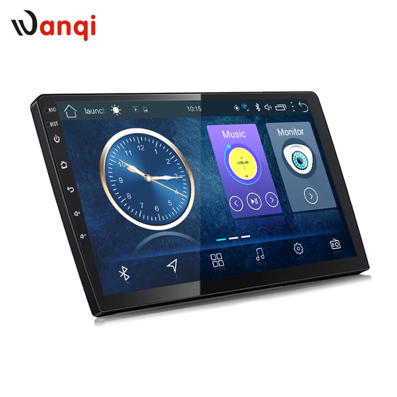 wanqi 8.1 Wanqi 2G RAM 32G ROM Car gps radio dvd Multimedia Universal Navigation head unit support steering wheel control RDS