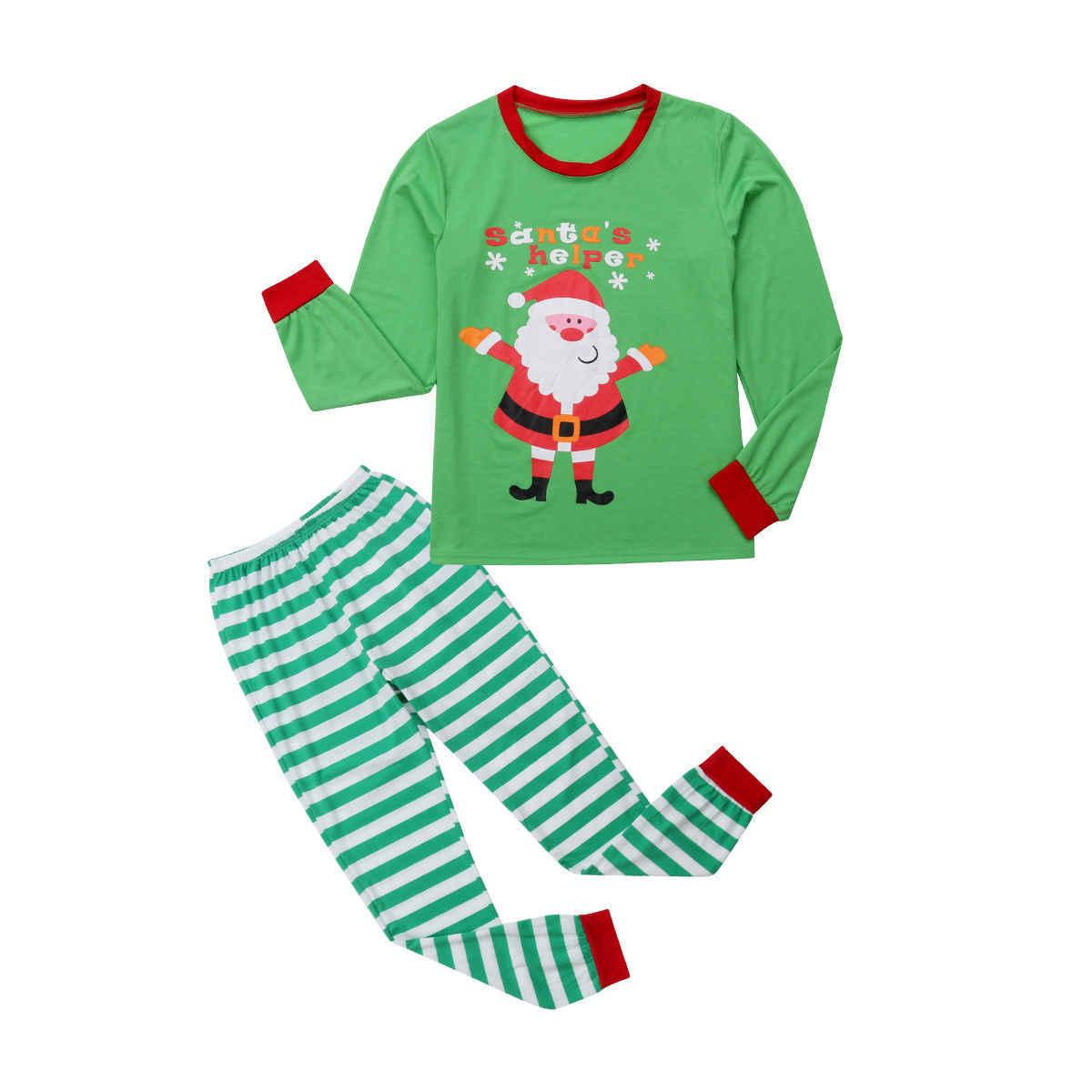 Conjunto de pijamas de Navidad para toda la familia conjunto de pijamas para niños