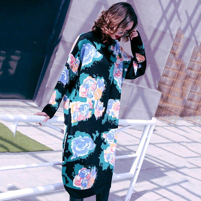 Femme Dress Roulé Robes Hit De Casual Tricoté À Marée Oversize Vgh Black  Femmes Manches D hiver Col Automne Vêtements Longues Couleurs Robe Mode  XwY8nCq1 541ff762c7c