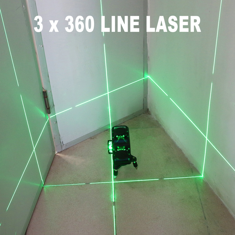 Image 3 - Kaitian 360 Laser Level 532nm Self Leveling Vertical Horizontal Super Powerful Nivel Lasers Receiver Green 12 Lines Lazer LevelLaser Levels   -
