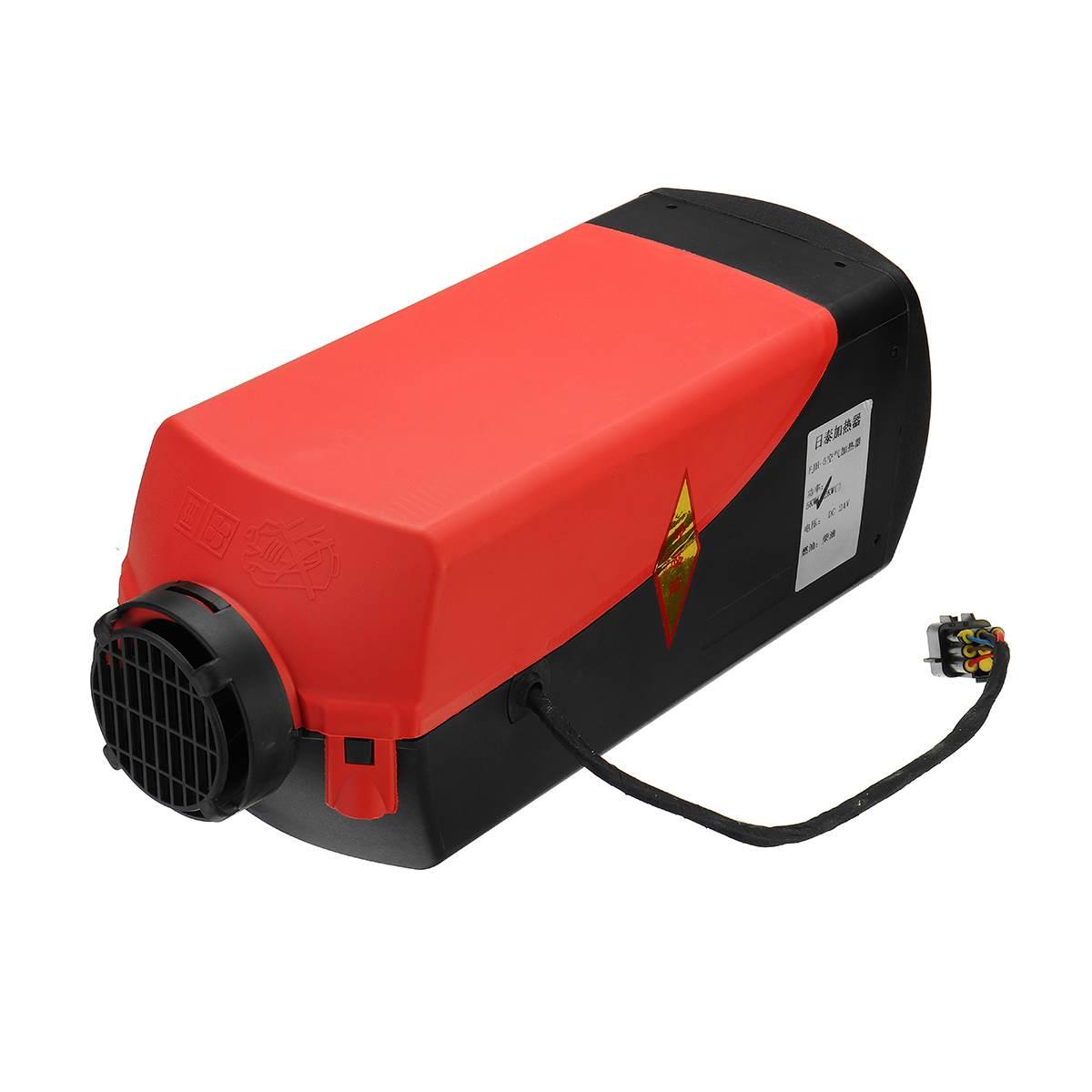 24 V 5000 W Auto voiture AirDiesel chauffage contrôle carburant moteur pompe ensemble chauffage voiture camion monotrou Parking moteur chauffage bateau Van