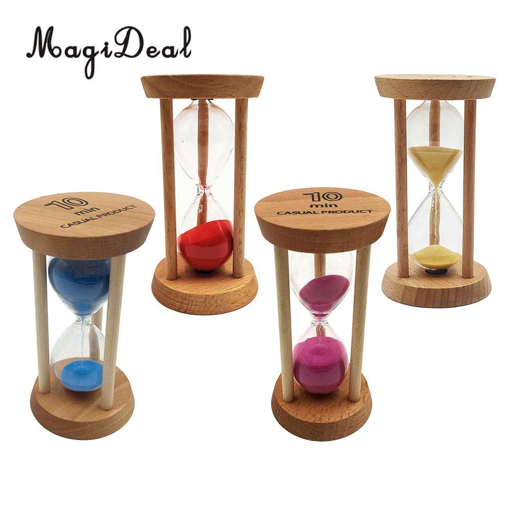 Sand Timer 3 Min Acryl Sanduhr Sandglass Home Büro Schreibtisch Tisch