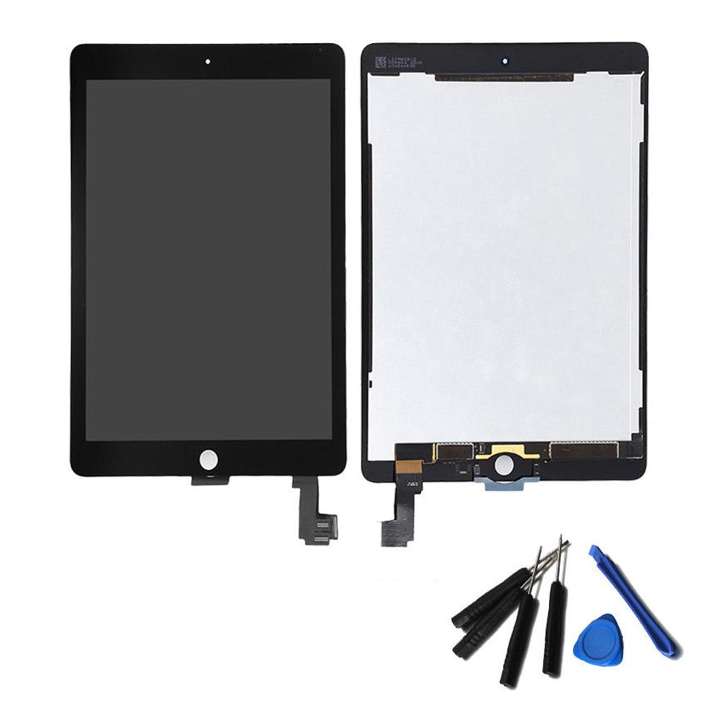 Black Touch Screen Digitizer Glass LCD Screen Display for iPad Air 2 A1566 A1567