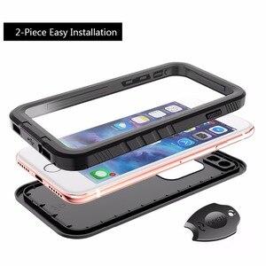 Image 4 - IPhone 7 için su geçirmez kılıf iPhone 8 darbeye dayanıklı yüzme dalış kar geçirmez kapak iPhone 7 8 sualtı koruyucu kılıf