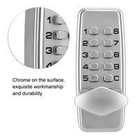 2 4 Digits MiNi Password Lock Mechanical Code Lock Cabinet Indoor Outdoor Door Security Coded Lock