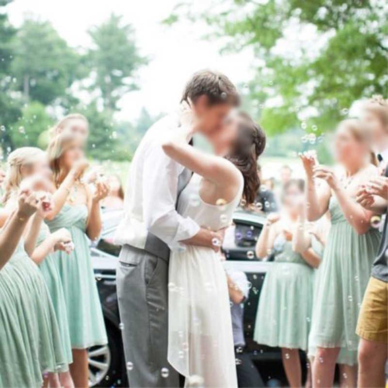 Набор Мини колпаки товары для праздника свадьбы любимый стол Декор дети белые сердечки трубки для свадьбы, вечерние трубки