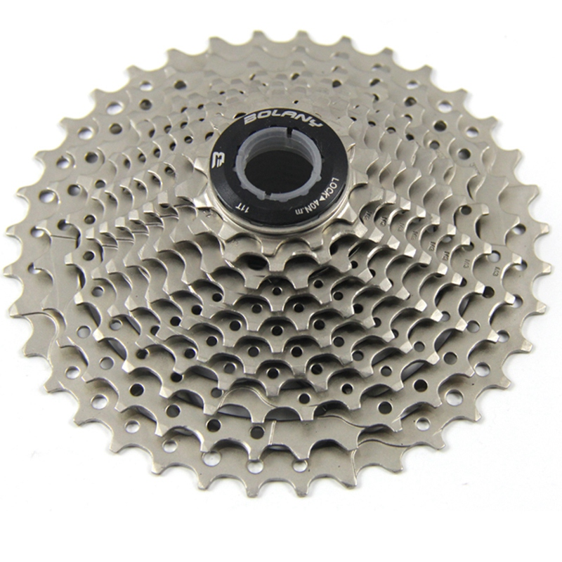 Professional Bolany Road Bike <font><b>11</b></font> Speed <font><b>11</b></font>-28T Freewheel Bicycle <font><b>Cassette</b></font> Flywheel Sprocket Compatible Parts image