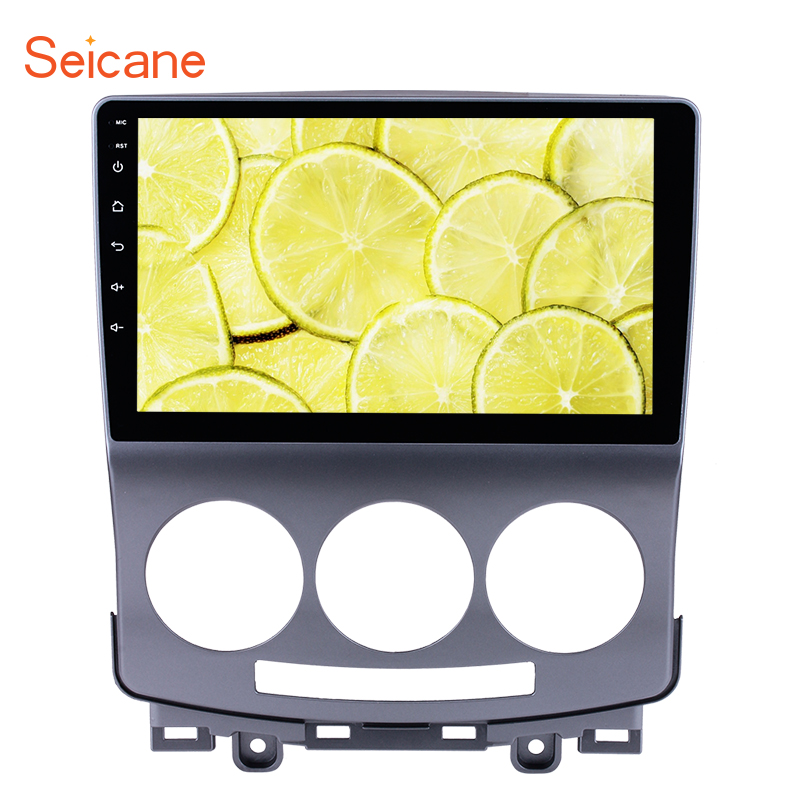 Seicane Android 7.1/8.1 Multimedia Player 9 GPS Car Radio For 2005 2010 Old Mazda 5 Touchscreen Head Unit With Wifi Bluetooth