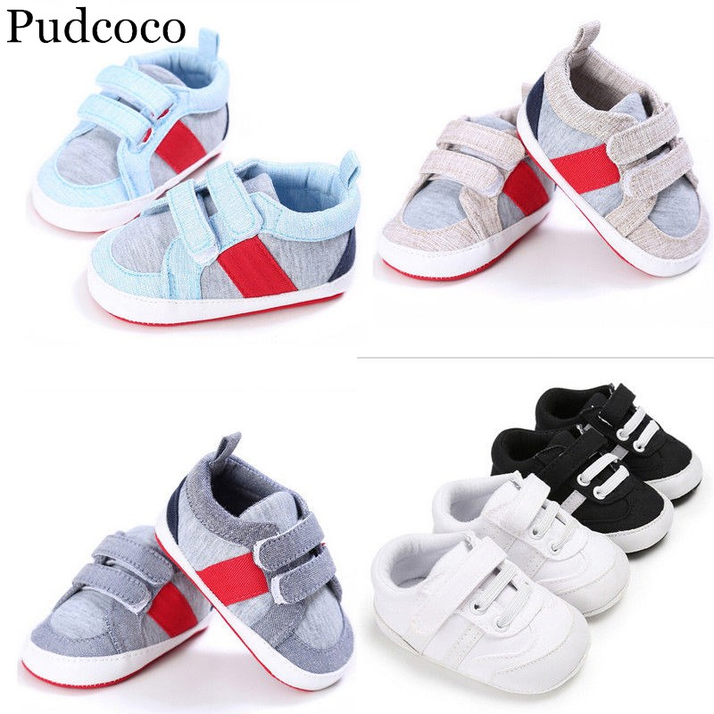Pudcoco Baby Shoes Sneaker Soft-Sole Infant Girls Brand-New Boys Size for 3-18month
