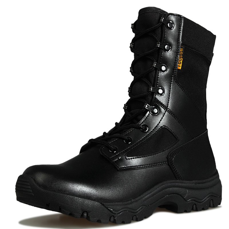 Mens Ultralight Tactical Combat Boots Outdoor Military Training Hiking Hunting Climbing Breathable Waterproof Desert High Shoes