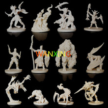 1/72 Scale Models Dragons And Dungeons DND Board Role-playing Games Piece Resin Model Descent Thorough The Jedi Contain Extend 10 pieces plastic model kit 1 72 dungeons and dragons dnd board game resin figure toys hobbies toys for children limited