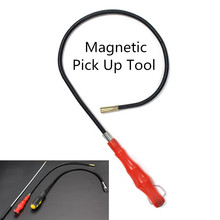 3 типа Гибкий Магнитный Магнит всасывающий стержень инструмент для захвата светодиодный фонарь Сильный Магнит Универсальный всасывающий стержень Выдвижная палка для захвата