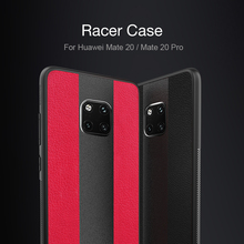 for Huawei Mate 20 Case Mate 20 Pro Leather Cases Nillkin Racer TPU+PC+PU Leather Splice Hybrid Phone Cover for Huawei Mate 20 цена