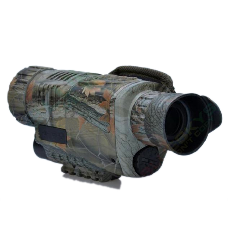 For Hunting Monocular Video DVR Imagers Night Vision Goggle Infrared Digital 5X40 Camera Device 200m Range