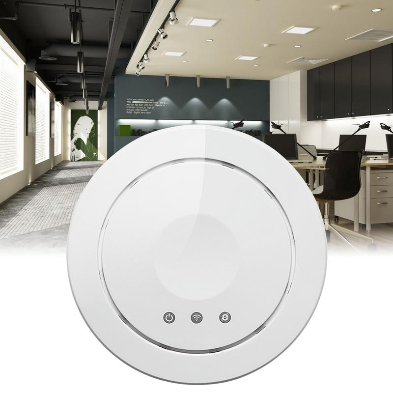 Wireless Ceiling AP Router 300M 2.4G Wifi Cloud Managed Access Point 802.11b/G/N Wireless MIMO High-Power High-Pass RouterWireless Ceiling AP Router 300M 2.4G Wifi Cloud Managed Access Point 802.11b/G/N Wireless MIMO High-Power High-Pass Router