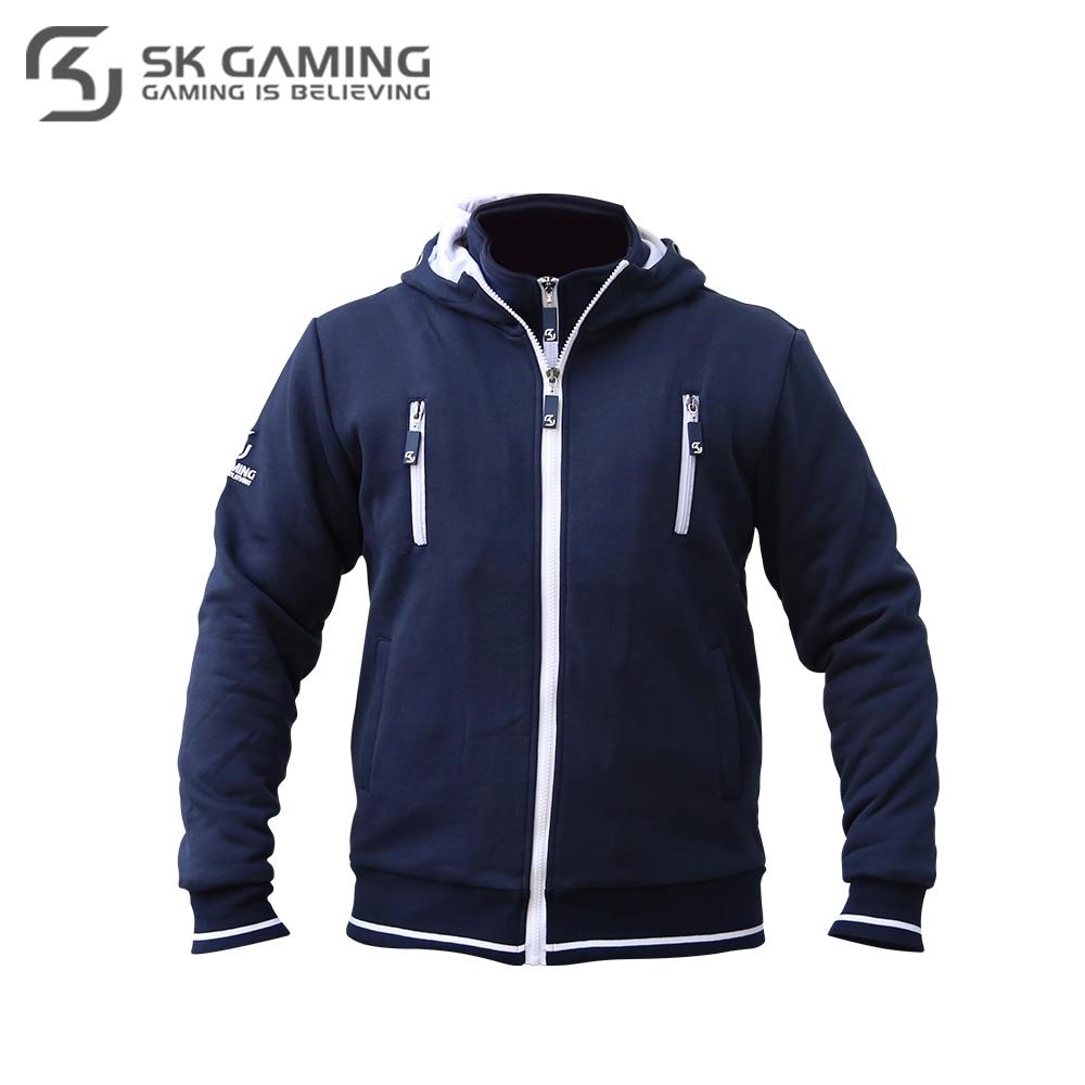 Hoodies & Sweatshirts SK Gaming FSKPRHOOD17BL0000 Hoodie mens sweater men hip-hop Cotton League of legends CS:GO esports