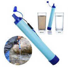 Wild Water Purifier Camping Survival Outdoor Supplies Filter Straw