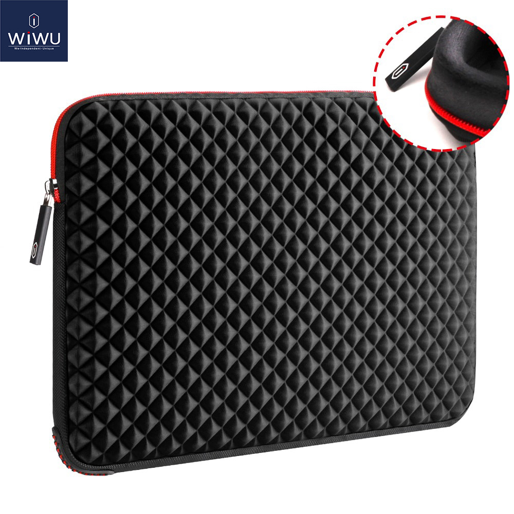 WIWU 15.6 inch Laptop Bag Case untuk Macbook Air 13 Waterproof Laptop Sleeve untuk Macbook Pro 13 Case Computer Notebook Bag 17.3