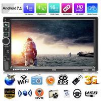 SWM 8802 2 Din Car Radio 7 Touch Screen Android 7.1 Car MP5 Player GPS Navi Bluetooth WiFi 3G USB FM HD Video Multimedia Player