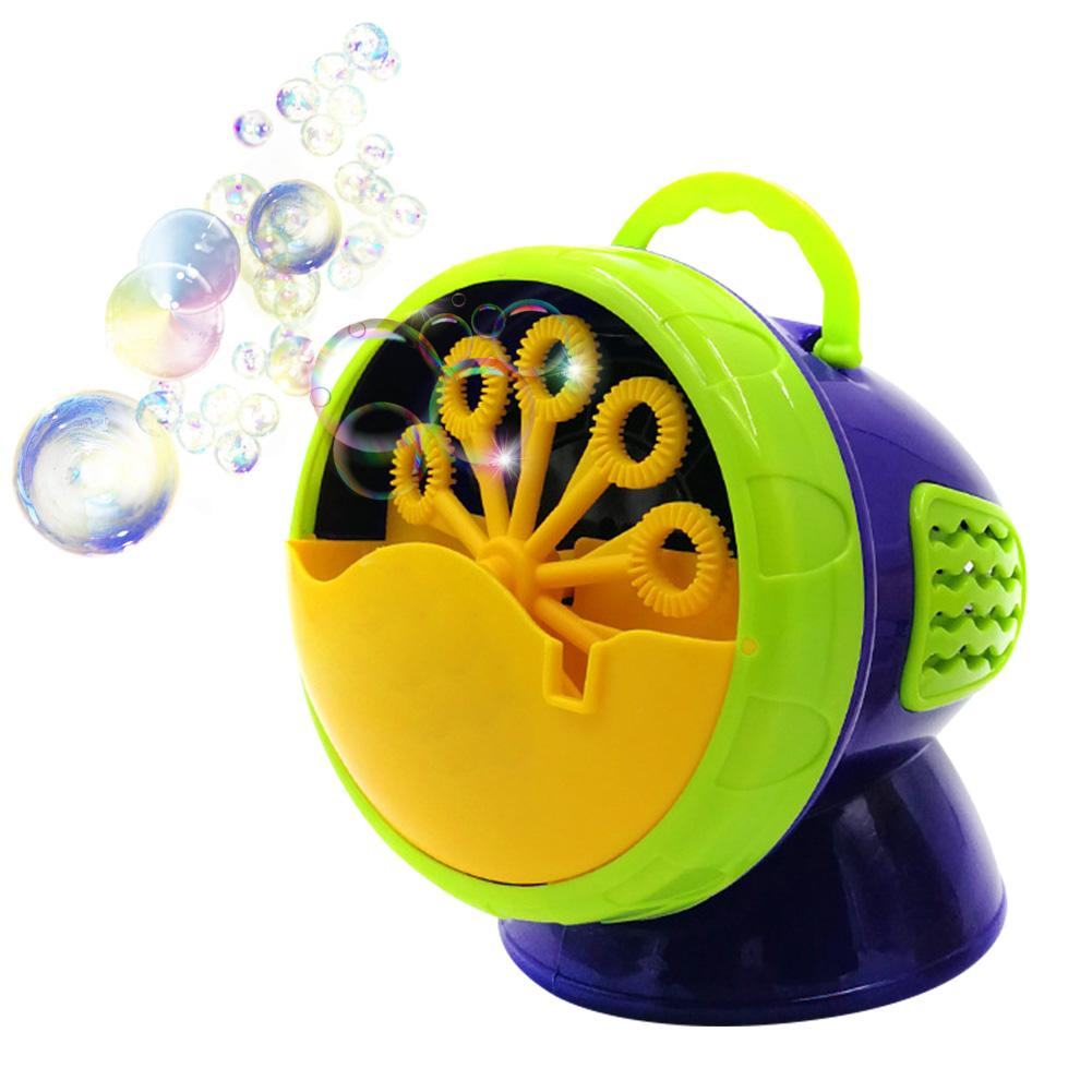Bubble Machine Durable Automatic Fan For Girl Boy Easy To Use Toy Bubble Blower For Kids 500 Bubbles Per Minute
