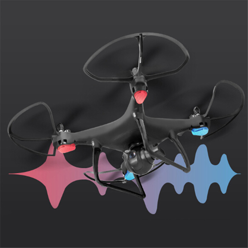 LH - X25GWF GPS WiFi FPV 4CH RC Drone - 720P HD Camera 2.4GHz Altitude Hold Follow Me Waypoint Point of Interest Quadcopter RTFLH - X25GWF GPS WiFi FPV 4CH RC Drone - 720P HD Camera 2.4GHz Altitude Hold Follow Me Waypoint Point of Interest Quadcopter RTF