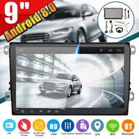 9 Inch Car Multimedia Player 2 DIN Android 8.0 HD FM MP4 Radio Stereo GPS Navigation WIFI bluetooth Car MP5 Player For VW