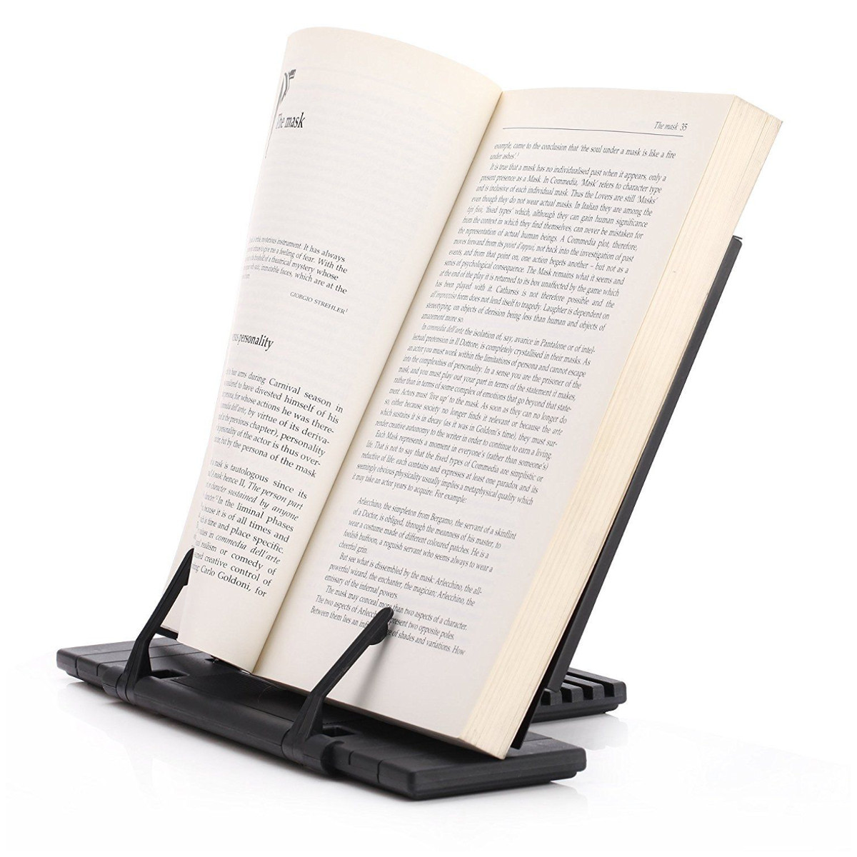 Adjustable Portable Steel Document Book Stand Holder Reading Rrame Desk Holder Tilt Bookstand Office School Supply