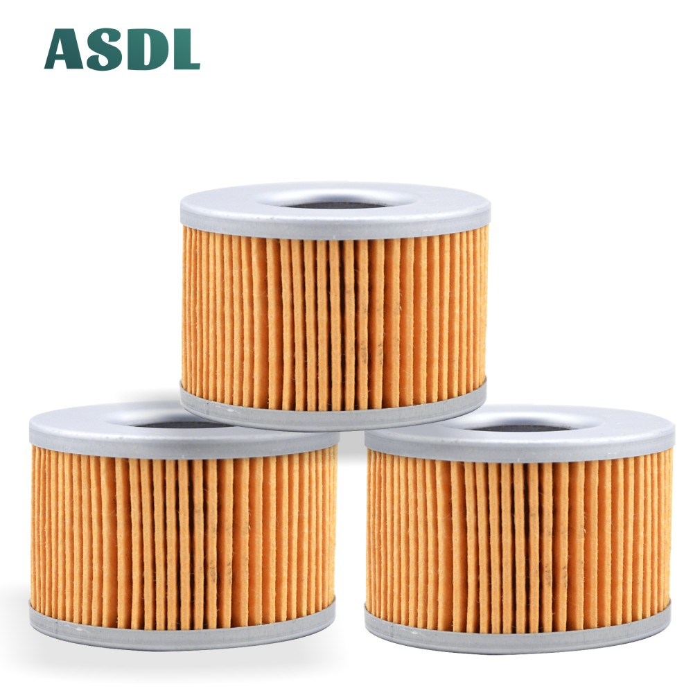 3pcs 500cc 550cc 400cc motorcycle engine oil filter for <font><b>Honda</b></font> GL500 Silver Wing Interstate CBX550 CBR400 <font><b>GL</b></font> <font><b>500</b></font> CBX 550 CBR 400 image