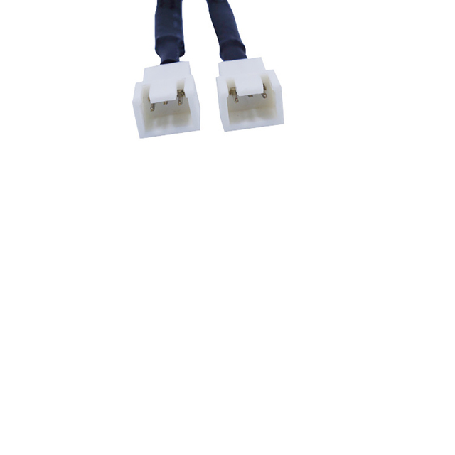 3 Pin CPU rozdzielacz Y podwójne zasilanie z długimi rękawami kabel wentylator do obudowy komputera narzędzie chłodnicy