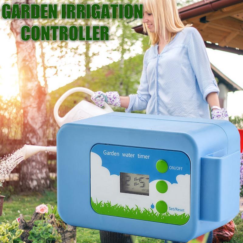 Kits d'arrosage automatiques de contrôleur de pompe de système d'irrigation d'égouttement avec la pompe à Membrane intégrée de haute qualité utilisée d'intérieur