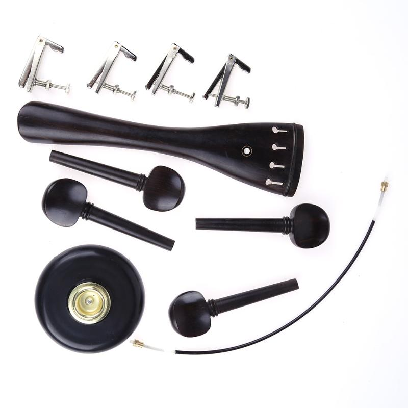 hot sale cello accessories 5 in 1 full set accessory for 4 4 cello instrument upgrade. Black Bedroom Furniture Sets. Home Design Ideas