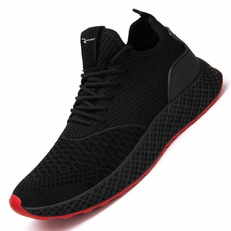 a7d5dc0edf8 2019 Spring autumn new style Breathable Comfortable Boots Men Sneakers  High-top Non-slip Fashion Men Shoes Zapatillas de deporte