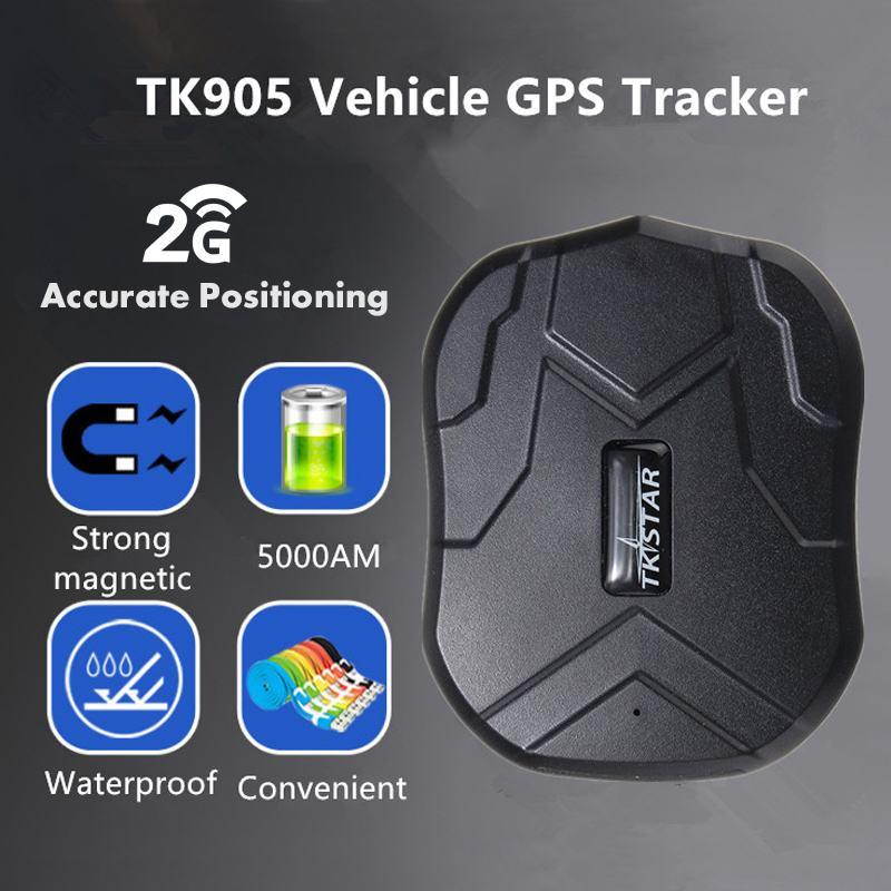 TK905 GPS dispositif de suivi de véhicule de voiture avec traqueur de véhicule puissant aimant universel traqueurs GPS