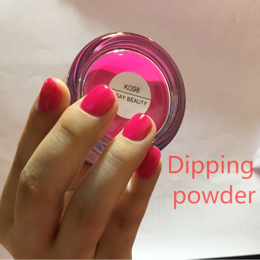 Dip Powder Nails Dipping Nails Get Stronger Natural Long ...