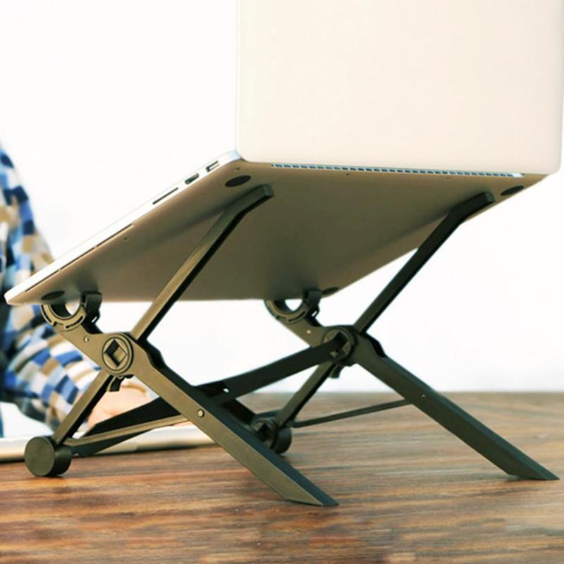 Laptop Tablet Stand Portable Folding Laptop Anti-Slip Cooling Pad Notebook Adjustable Tablet Stands Holder Accessories