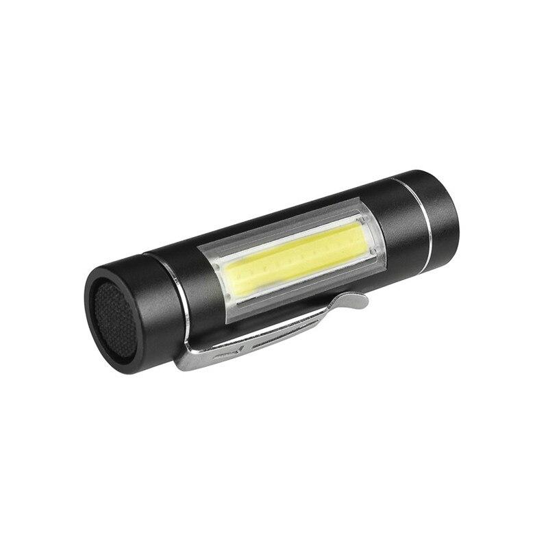 CLAITE 1516 T6 1000Lumens Special Side Light Portable Brightness EDC Tactical LED Flashlight NEW