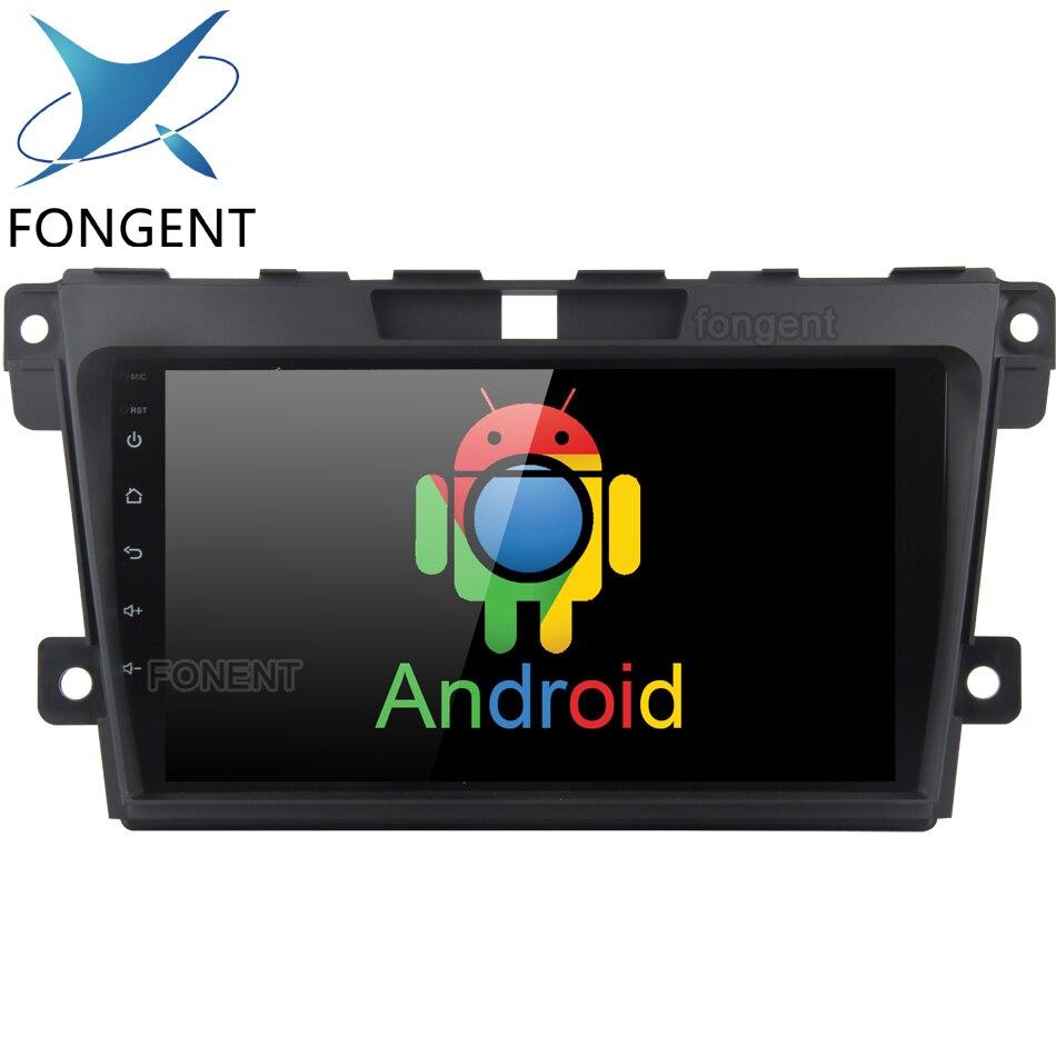 1 lecteur multimédia DVD de voiture Android 9 ''pour Mazda CX7 CX 7 CX-7 2008-2015 avec Navigation GPS RDS carte FM unité de tête Canbus PC