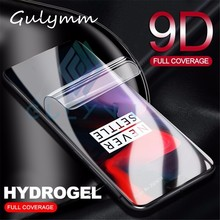 Soft Hydrogel Screen Protector For Oneplus 6 6T Front Film 9D Full Curved 5 5T 7 PRO Transparent HD Cover