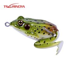 TSURINOYA эмульсионная Лягушка Мягкая приманка рыболовная приманка 50 мм/12 г топовые рыболовные приманки