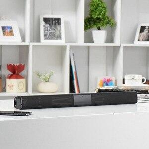 Image 3 - Беспроводная звуковая панель Bluetooth, Стереодинамик для ТВ, домашнего кинотеатра, TF USB звуковая панель (черная)