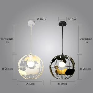 Image 5 - ZHAOKE الحديثة العالمية الأرض قلادة أضواء تعليق الإنارة لغرفة المعيشة مطعم المنزل تركيبات الإضاءة مصابيح متدلية