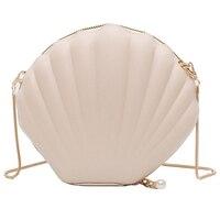 Женщин диких новая мода Shell Маленькая сумка-почтальон сумка