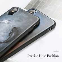 Soft Cute Black Phone Case N.6 For iPhone (Available for all models)