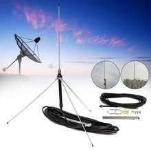 15 м кабель мощный 1/4 длина волны GP антенна для 0,5-30 Вт FM передатчик