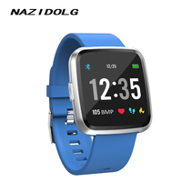 Smart bracelet watch sports wristband with APP software features Touch Screen Fitness Tracker Blood Pressure Measurement Y7P