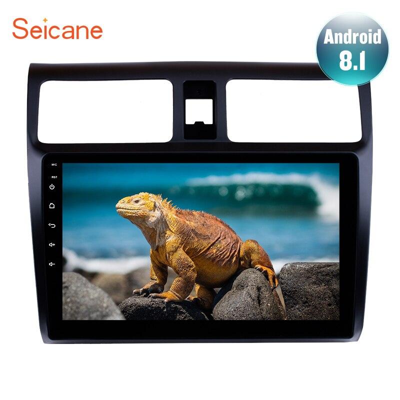 Seicane GPS lecteur multimédia Pour 2005 2006 2007 2008 2009 2010 Suzuki Swift Android 8.1 10.1 autoradio Autoradio Stéréo