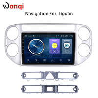9 inch Android 8.1 full touch screen car multimedia system for tiguan 2010 2018 car gps radio navigation