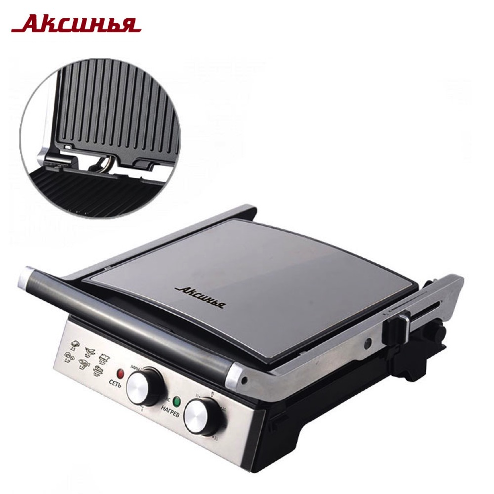 цена на Electric Grills & Electric Griddles aksinya 0R-00004786 Cooking Appliances Electric Press Grill KC-5201 kitchen