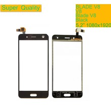 10Pcs/lot Touch Screen Digitizer For ZTE Blade V8 Touch Panel Touchscreen Lens Front Glass Sensor NO LCD V8 Replacement