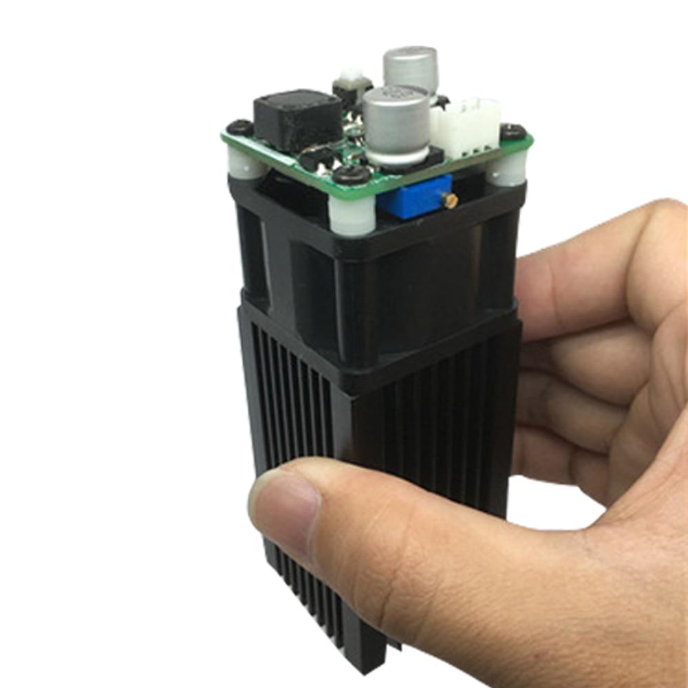 5500mW 445 450nm Blue Laser Module DIY Micro Laser Engraving Module for Engraving and Cutting Engraver Accessory